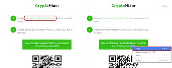 how to use a bitcoin mixer cryptocompare com