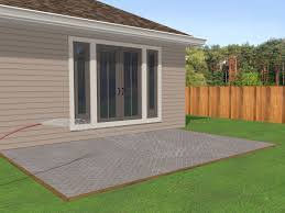 How To Cement A Patio 2 Easy Ways To Lay A Brick Patio Wikihow