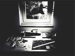 Schreibtisch Schwarz Kostenlose Foto Schreibtisch Schwarz Und Weiß Fenster