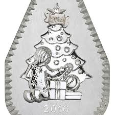 waterford twas the before ornament 2016 silver
