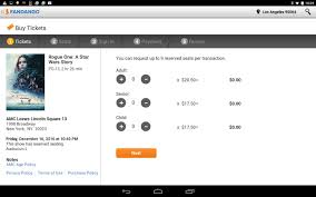 fandango movies for tablets android apps on google play