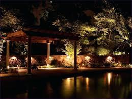 patio ideas cool landscape lighting ideas cool patio lighting