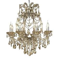Oly Chandelier Pipa Bowl Chandelier Chagne Chandelier 8 Light Oly Pipa