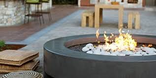 Concrete Firepits Concrete Pits Bowls Landscaping Network