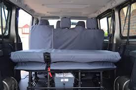 renault trafic 9 passenger van renault trafic passenger 2014 onwards 9 seater minibus seat covers