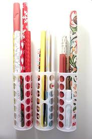 hanging gift wrap organizer door wrapping paper storage the door storage use an the