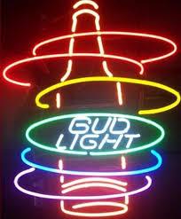 bud light neon signs for sale 2018 bud light rainbow bottle neon sign handmade custom real glass