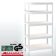 Wire Storage Unit 4 Tier Metal Shelving Shelf Rack Garage Office Kitchen Storage