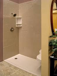 Bathroom Shower Pans Amazing Fiberglass Shower Pan With Installation The Best Idea 8