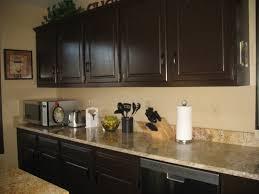 Rustoleum Kitchen Cabinet Rustoleum Cabinet Transformation In Expresso Color Kitchen