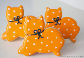 mighty delighty purrfectly simple halloween cat cookies