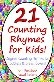 21 counting rhymes for kids ebook perfect for toddlers