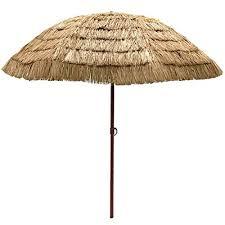 Tiki Patio Umbrella Easygo 8 Thatch Patio Umbrella Tropical Palapa Raffia Tiki