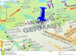 Bonn Germany Map by Germany Map Stock Photo Image 44730975