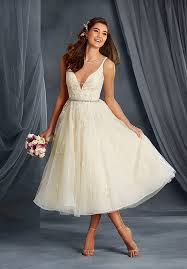 mid length wedding dresses no issues with tea length wedding dresses yasminfashions
