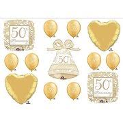fiftieth anniversary 50th anniversary party supplies