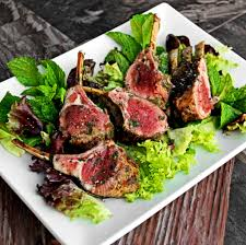 Rack Of Lamb On Grill Seared Rosemary Mint Lamb Chops Char Broil
