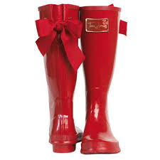 womens boots joules joules uk posh welly womens welly with bow polyvore
