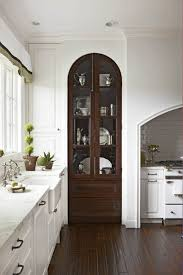 glass door kitchen cabinet with drawers how to make your kitchen beautiful with glass cabinet doors