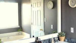 Large Framed Bathroom Mirror Large Framed Bathroom Mirrors Awesome How To Frame A Mirror With