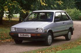 subaru justy rally a brief history of subaru