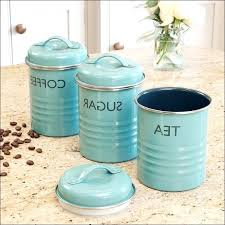 blue kitchen canisters blue kitchen canister sets spurinteractive