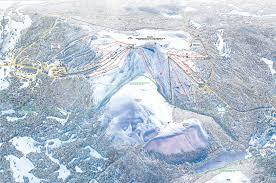 Bad Gastein Skigebiet Pistenplan Ylläs