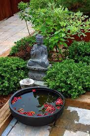 espaços para oração e meditação em casa meditation garden zen