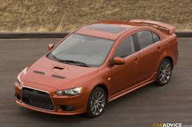 mitsubishi cars 2009 2009 mitsubishi lancer ralliart first steer photos 1 of 40