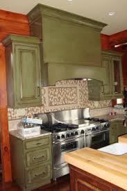 green kitchen island cabinet design distressed kitchen island stunning antiquing