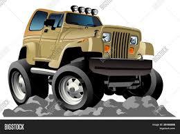 jeep cartoon offroad vector cartoon 4x4 car vector u0026 photo bigstock