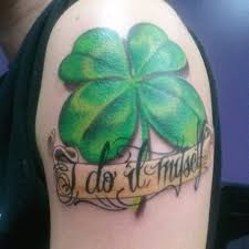 irish celtic shamrock tattoos creativefan