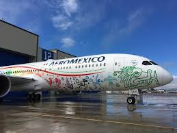 Press Advertising Aeromexico Multi Format Aeroméxico Unveils Its 787 9 Quetzalcóatl The Of Aviation