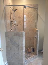 neo angle shower door lights decoration