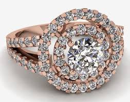 Tacori Wedding Rings by Tacori Pink Wedding Rings Rose Shaped Model