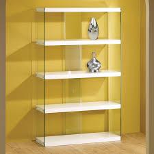 bookshelf marvellous glass shelf bookcase wonderful glass shelf