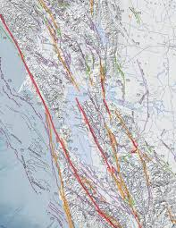 Map Of Greater San Francisco Area by Cgs History 2010 Fault Activity Map Of California