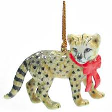 northern cheetah ornament r268