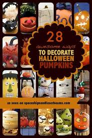 Halloween Pumpkin Decorating Ideas 28 Of The Best Pumpkin Decorating Ideas Spaceships And Laser Beams