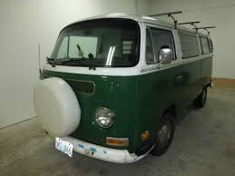 1971 vw bus camper conversion no rust mostly original paint for