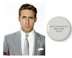 gray paint colors according to ryan gosling apartment therapy