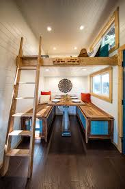 Tiny Furniture Trailer by Tiny Heirloom Clads Mobile Home With Rock Climbing Wall