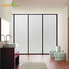 Window Decor Film Electrostatic Radiation Protection Frosted Window Film Decorative