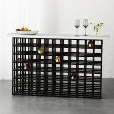 console table with wine storage wine storage cb2