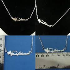 Make Your Own Name Necklace Customize Your Own Name Necklace The Necklace