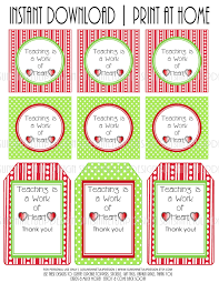 baked goods labels teacher appreciation printable gift tags by
