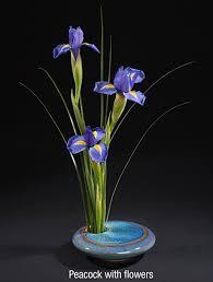 ikebana vase georgetown pottery ikebana flower vase blue