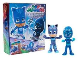 sdcc 2017 exclusive pj masks catboy night ninja rival 2 pack