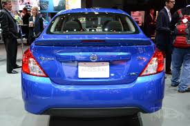 nissan egypt 2015 nissan versa facelift at 2014 new york auto show rear