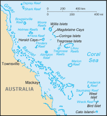 sea of map map of coral sea islands terrain area and outline maps of coral